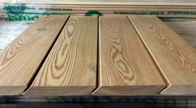 Монтаж планкена (Навесной фасад из планкена)
