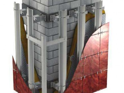 Из каких материалов делается вентилируемый фасад?