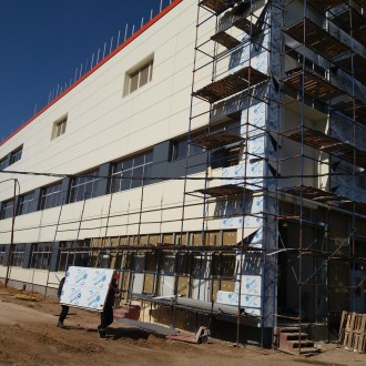 Производственное здание с административной частью