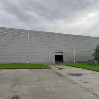 Здание механизированного склада шрота