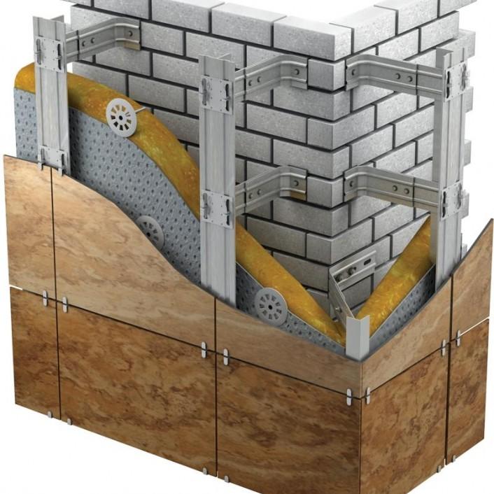 Навесные вентилируемые фасады (НВФ)