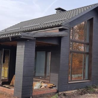 Вентилируемый фасад частного дома