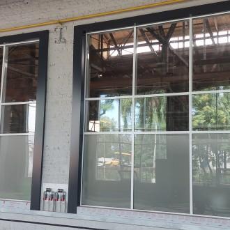 Фасадные работы при реконструкции Блока Механических Цехов  АО «Воронежстальмост»
